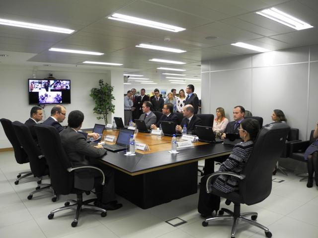 Sete juízes federais tomaram possem em Florianópolis.