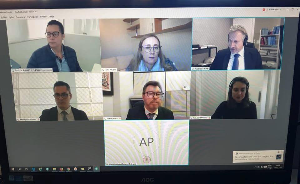 2ª Turma Recursal de SC realiza primeira sessão de julgamento telepresencial